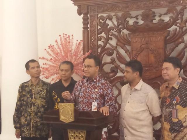 Gubernur DKI Jakarta Anies Baswedan. Foto: Medcom.id/M Sholahadhin Azhar.