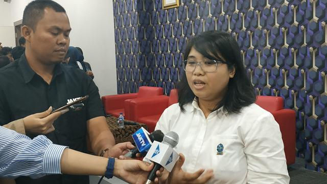 Peneliti Ekologi Manusia dari Lembaga Ilmu Pengetahuan Indonesia (LIPI), Luhkti Katarina. Foto: Medcom.id/Ilham Pratama.