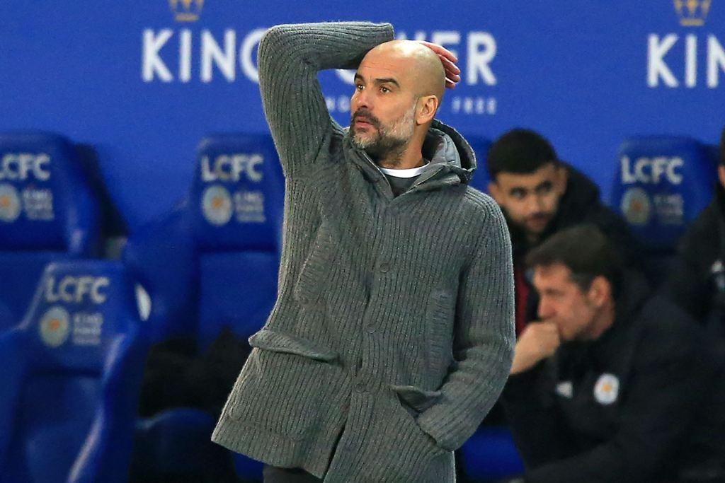 Pep Guardiola (AFP/LINDSEY PARNABY)
