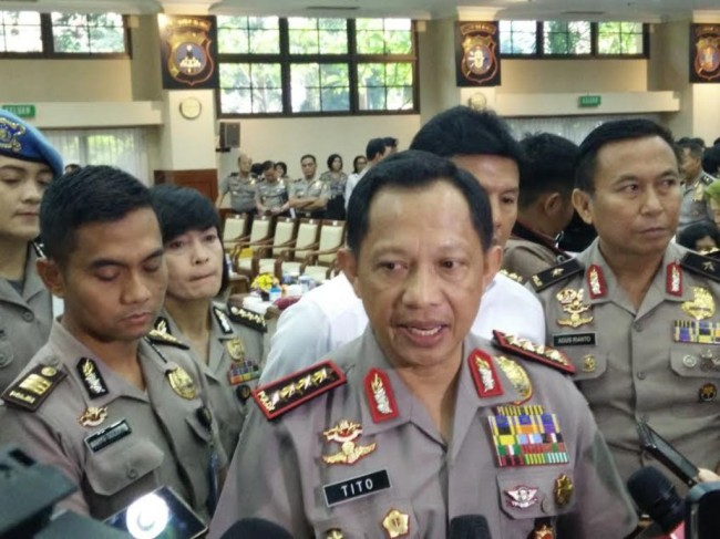 Kapolri Jenderal Tito Karnavian--Metrotvnews.com/Lukman Diah Sari