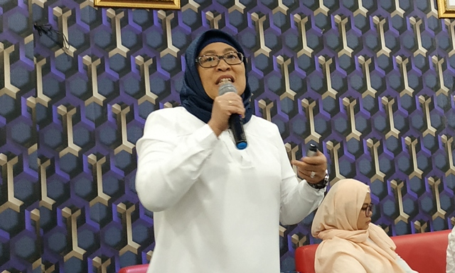 Peneliti Ekologi Manusia dari Lembaga Ilmu Pengetahuan Indonesia (LIPI), Deny Hidayati. Foto: Medcom.id/Ilham Pratama..