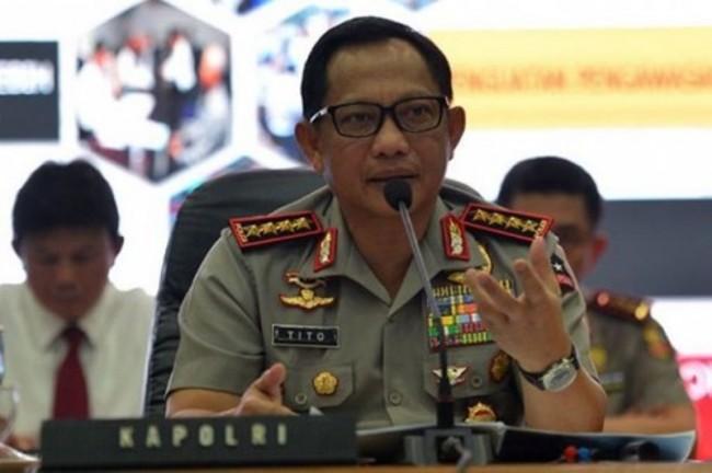 Kapolri Jenderal Tito Karnavian--Antara/Akbar Nugroho Gumay