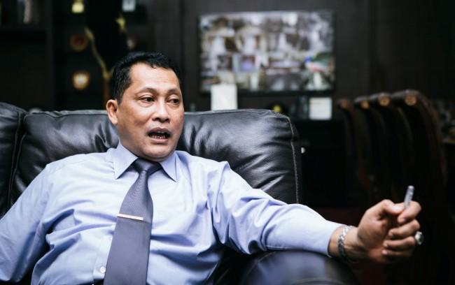 Direktur Utama Bulog Budi Waseso. Foto: MI/Atet Dwi.