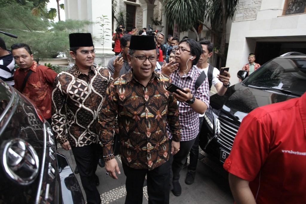 Sekjen PDI Perjuangan Hasto Kristiyanto. Foto: MI/Arya Manggala
