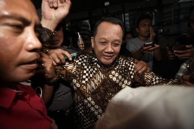 Mantan Sekretaris Mahkamah Agung, Nurhadi Foto: Antara/Sigid Kurniawan..