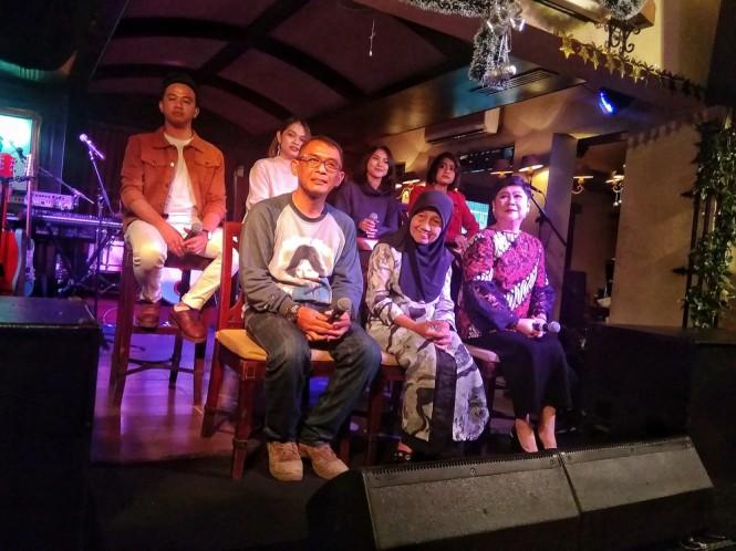 Jumpa pers 43 Tahun Nike Ardilla di kawasan Menteng, Jakarta Pusat, Kamis 27 Desember 2018. (Foto: Medcom.id/Cecylia Rura)