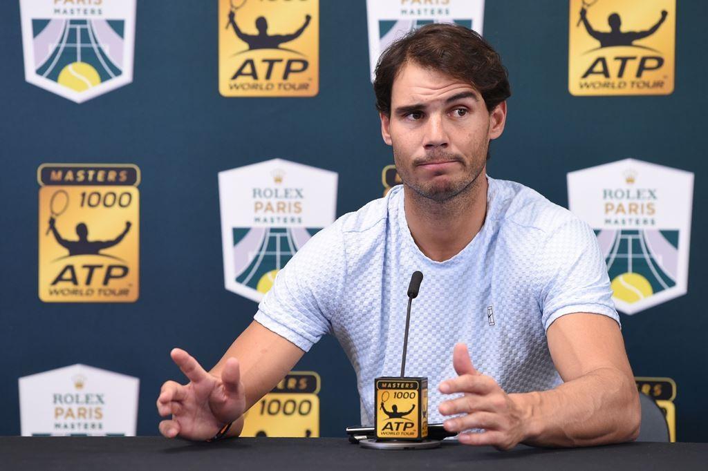 Petenis Spanyol, Rafael Nadal. (Anne-Christine POUJOULAT / AFP)