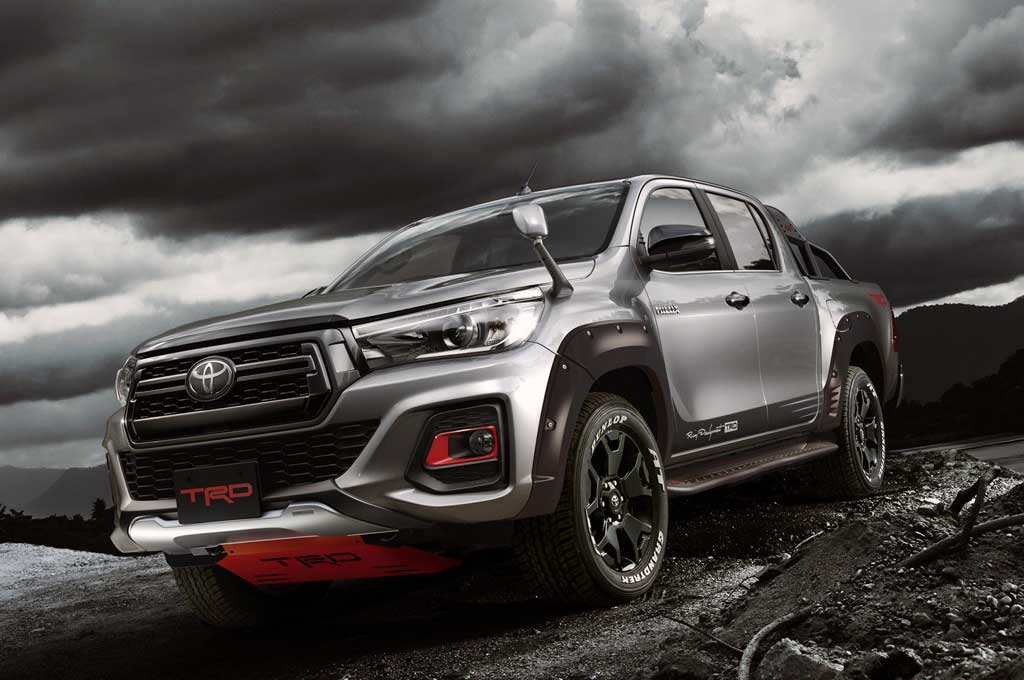 Toyota New Hilux Black Rally Edition. Carscoops