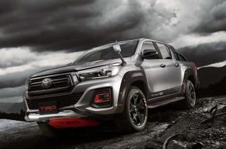 Ogah Kalah Pamor, Toyota Siapkan Hilux Black Rally di TAS 2019