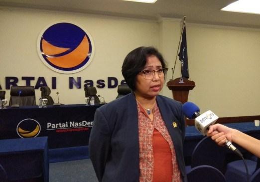 Politikus NasDem Irma Suryani Chaniago. Medcom.id/Fachrie Audhia Hafiez