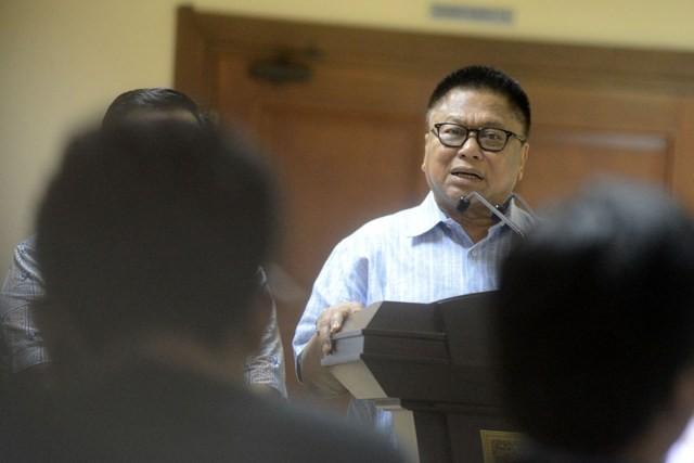 Ketum Partai Hanura, Oesman Sapta Odang (OSO). MI/Susanto
