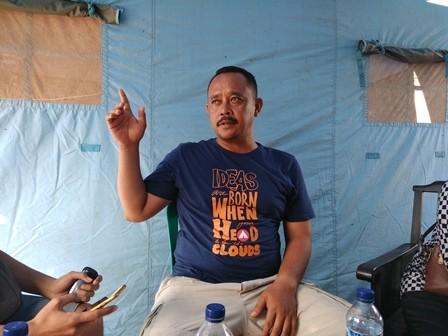 Kepala Desa Panimbangjaya, Mulyadi. Medcom.id/Fachrie Audhia Hafiez