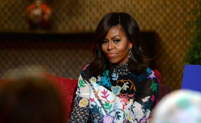 Mantan Ibu Negara Amerika Serikat (AS) Michelle Obama, perempuan paling dikagumi di AS. (Foto: AFP).
