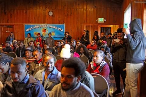 Mahasiswa Papua di AS Semangat Bangun Tanah Kelahirannya