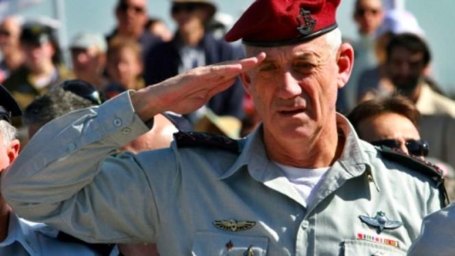 Mantan Kepala Militer Israel Benny Gantz akan bertarung di pemilu 2019. (Foto: AFP).