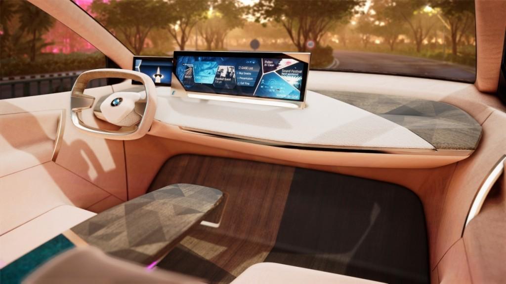 Kabin BMW iNext Concept. BMW
