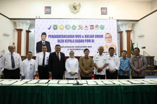 BPOM menjalin sinergi dengan berbagai pihak di Sumatera Utara untuk mengoptimalkan pengawasan peredaran obat dan makanan (Foto:Dok.BPOM)