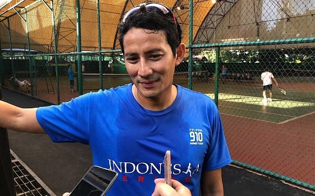 Calon wakil presiden Sandiaga Uno. Foto: Medcom.id/Theofilus Ifan Sucipto,
