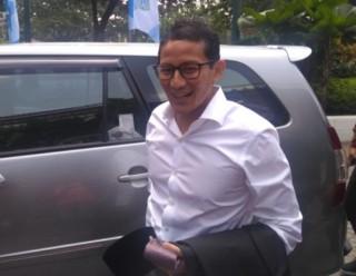 Prabowo-Sandi Ready to Participate in First Presidential Debate