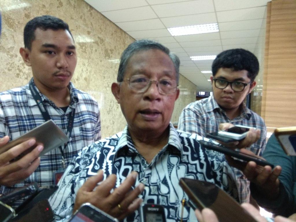 Menko Perekonomian Darmin Nasution. (FOTO: Medcom.id/Desi Angriani)