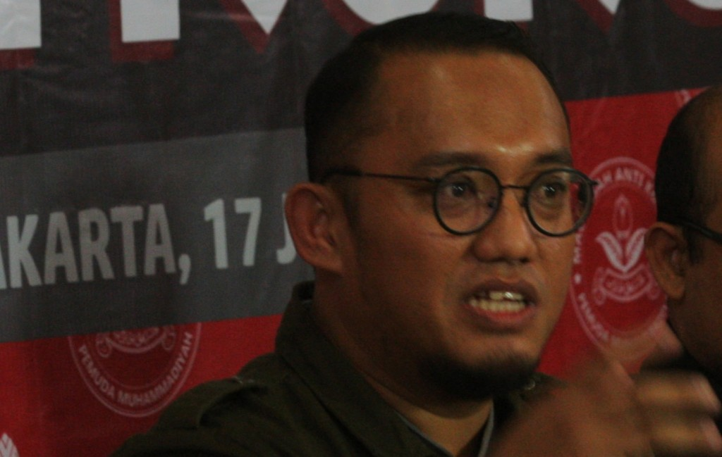 Juru bicara tim Prabowo Subianto-Sandiaga Uno, Dahnil Anzar Simanjuntak/MI/Ramdani