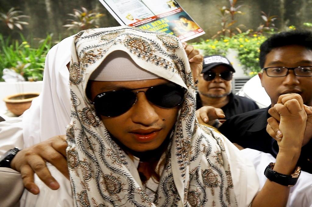 Bahar bin Smith akan menjalani pemeriksaan di Breskrim Mabes Polri Jakarta, 6 Desember 2018, Ant - Rivan Awal Lingga