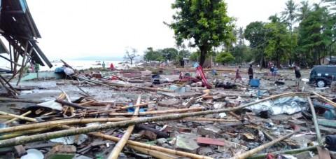 Suasana pascatsunami Selat Sunda, BNPB/Humas.