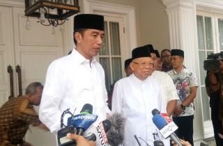 Ma'ruf Can Boost My Electability: Jokowi