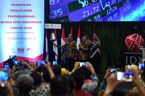 Jokowi Bangga IHSG Jadi Terbaik Kedua di Dunia