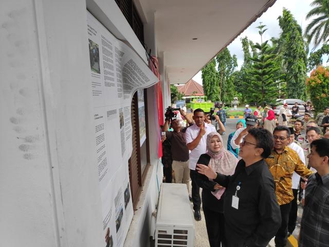 Mendagri Tjahjo Kumolo di Banten/Medcom.id/Adin