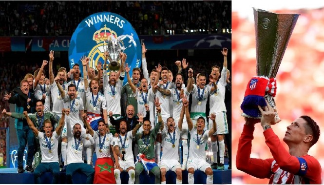 Kaleidoskop Liga Champions 2018. (Ilustrasi: Medcom.id)