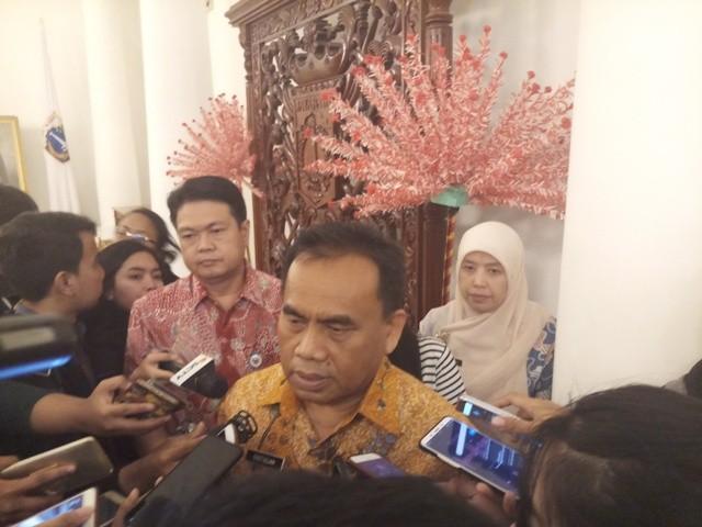 Sekretaris  Daerah Khusus Ibu Kota Jakarta Saefullah/Medcom.id/Adin