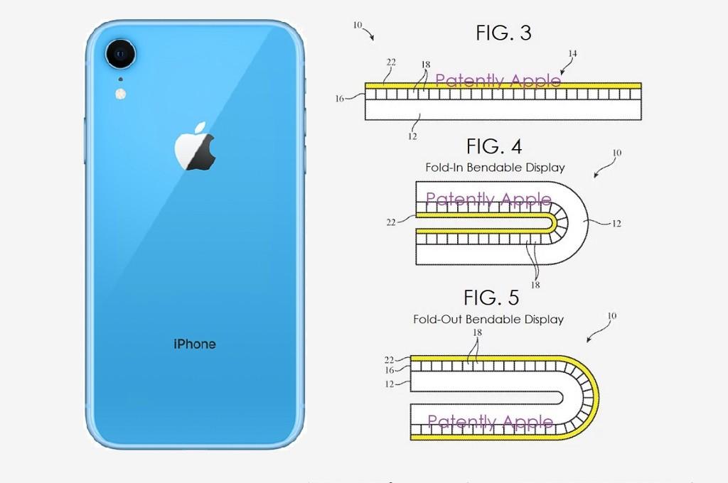 Apple mendaftarkan paten baru, mengindikasikan rencananya terkait smartphone berdesain lipat.