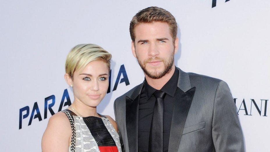Miley Cyrus dan Liam (Foto: gettyimages)