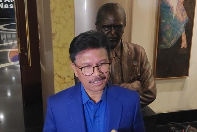 Sekretaris Jenderal Partai NasDem Johnny G Plate. Foto: Medcom.id/Adin.