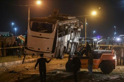 Mesir Bunuh 40 Teroris usai Serangan di Giza