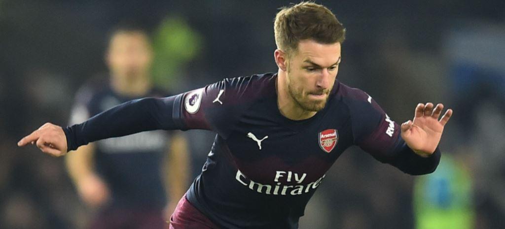 Aaron Ramsey akan jadi pembelian hebat Juventus (AFP/Glyn Kirk)