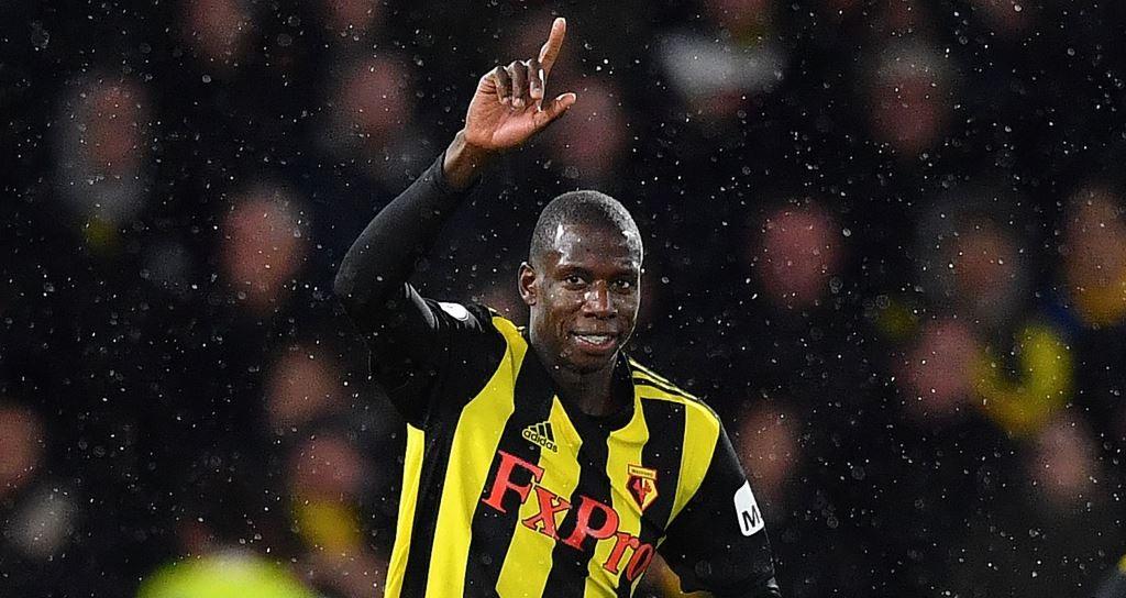 Abdoulaye Doucoure menjadi buruan PSG (AFP/Ben Stansall)