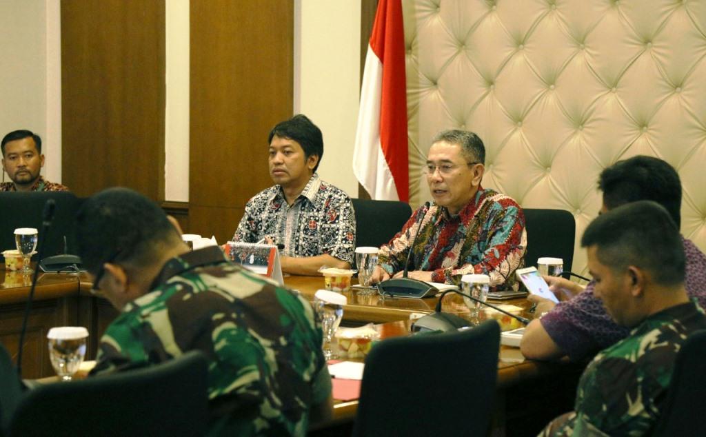 Kemenko PMK menggelar rapat koordinasi tingkat eselon 1 di kantor Kemenko PMK, Jakarta (Foto:Dok.Kemenko PMK)