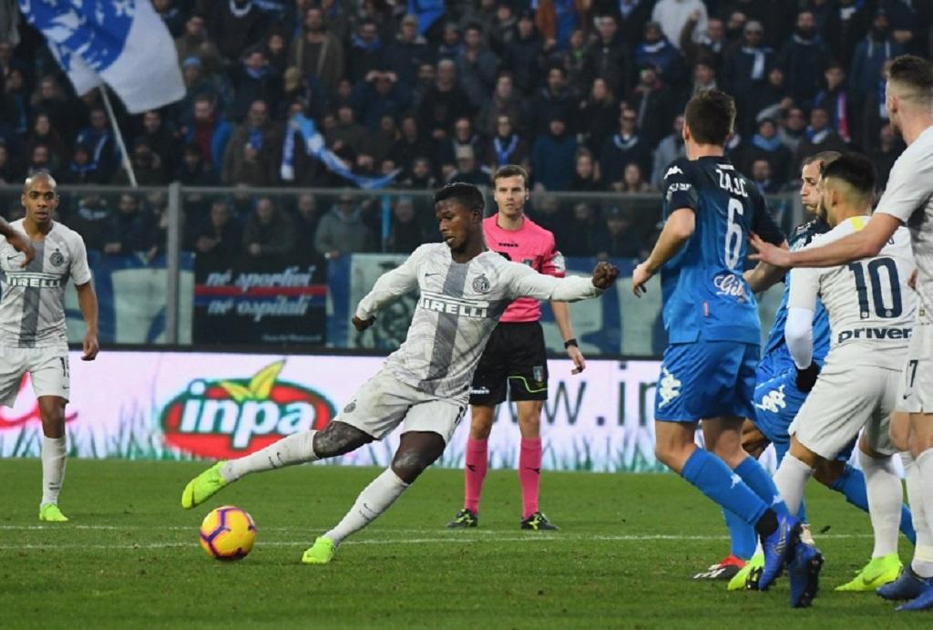 Keita Balde menjadi pahlawan kemenangan Inter Milan atas Empoli (Twitter/FCInter)