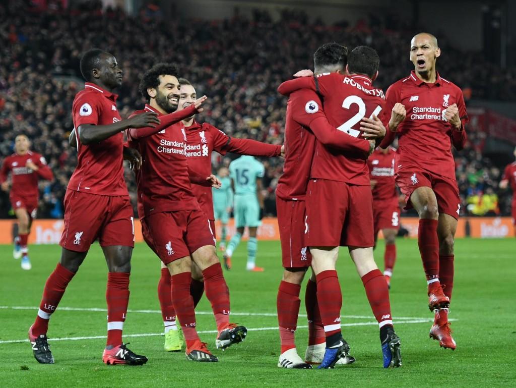 Liverpool vs Arsenal (Foto Twitter Liverpool)