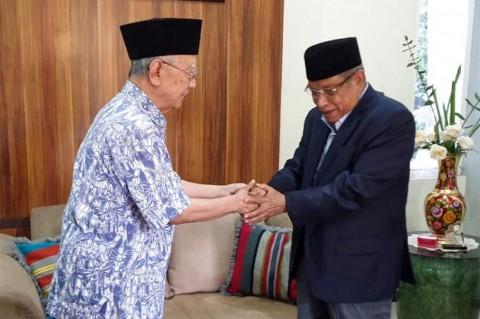 Said Aqil Siroj Bersilaturahmi dengan Gus Sholah