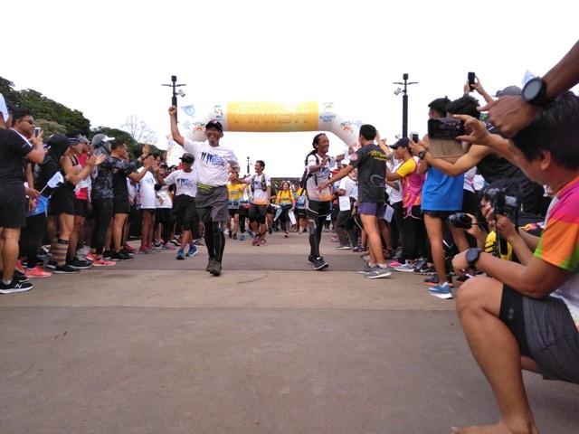 Aksi Ultra Marathon--Medcom.id/
