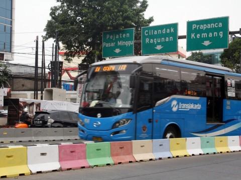 TransJakarta Tambah 126 Bus di Malam Tahun Baru