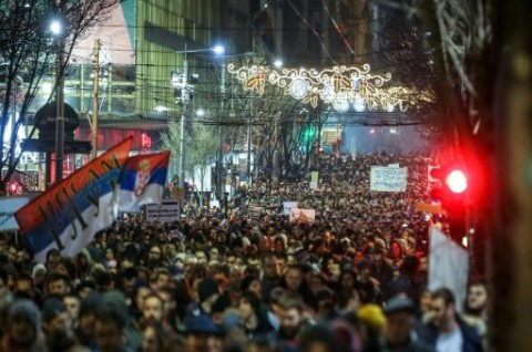 Demonstrasi di Serbia Berlanjut, Presiden Didesak Mundur