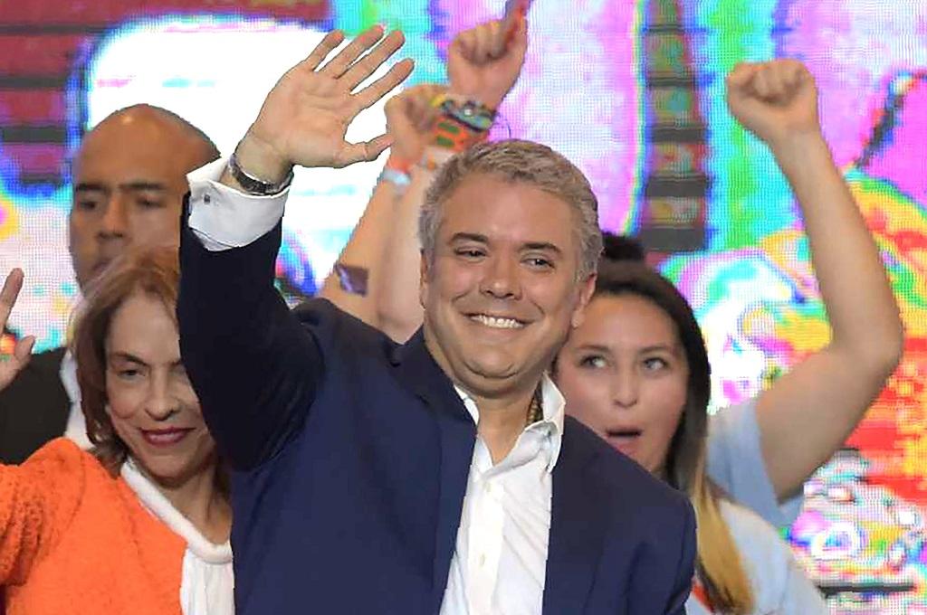 Presiden Kolombia Ivan Duque. (Foto: AFP)