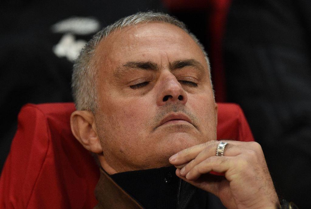 Inter Milan menolak memulangkan Jose Mourinho ke Italia (AFP/Oli Scarff)