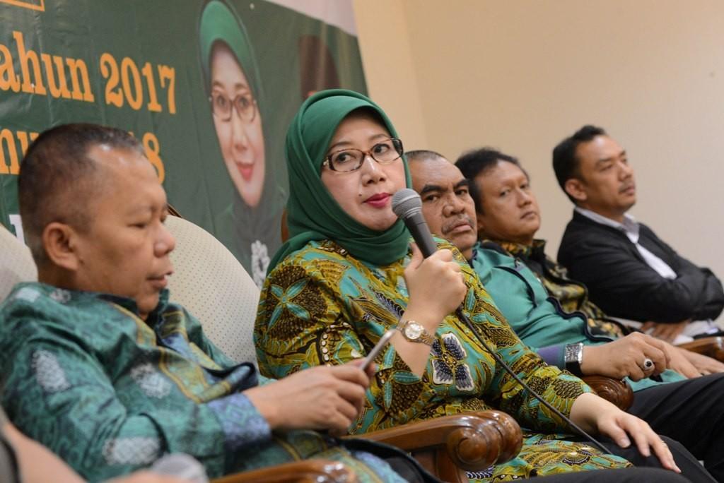 Wakil Ketua Umum PPP Reni Marlinawati. MI/M Irfan.