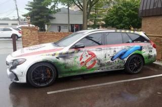 Mercedes-AMG E63 Estate Disulap jadi Mobil Ghost Buster
