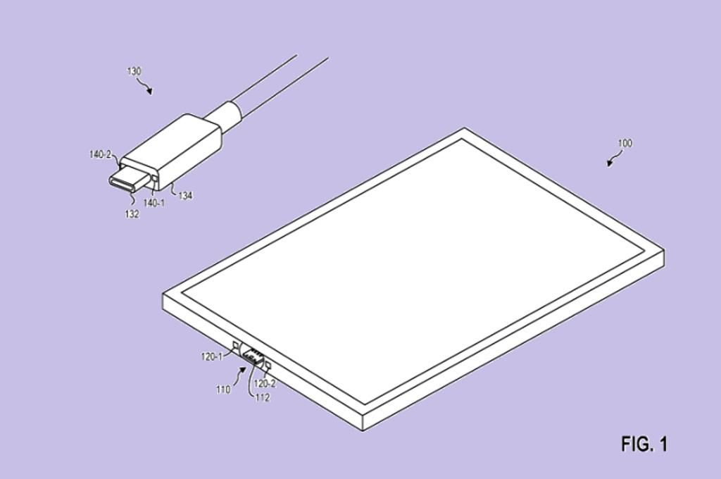 Microsoft mendaftarkan paten terkait USB-C dengan menggunakan sistem magnetik.
